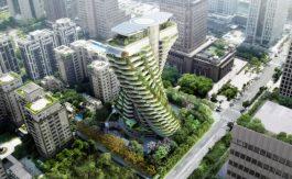 edificio verde taipei
