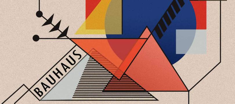 cartel propagandístico de la Bauhaus