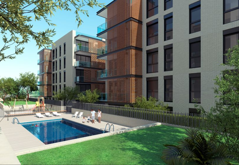pisos con piscina comunitaria en sant cugat