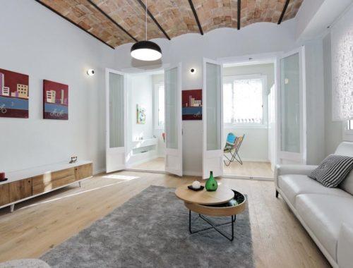 apartamento reformado en barrio sant antoni