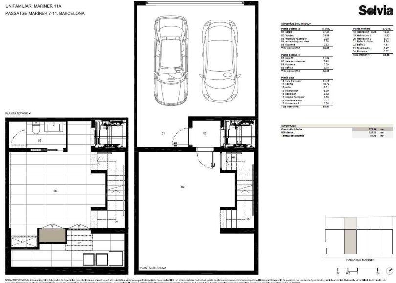plano de vivienda de obra nueva corsega 480