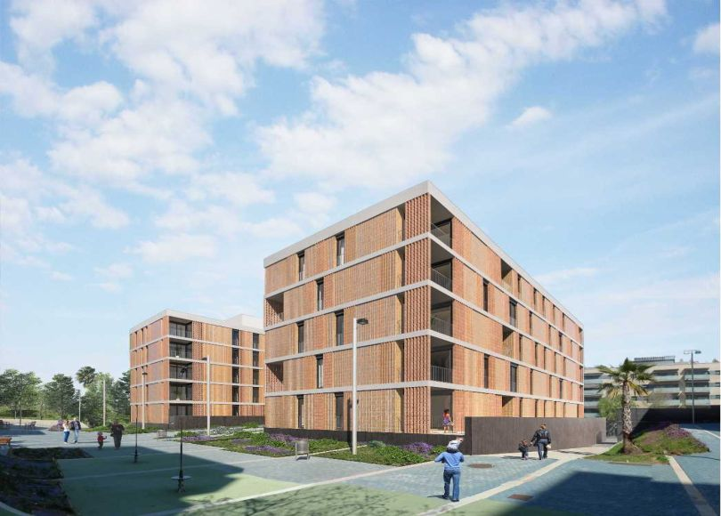 promoción de pisos de obra nueva residencial plaça primavera