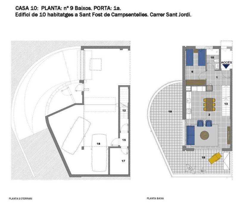 plano casa unifamiliar a estrenar en sant fost de campsentelles
