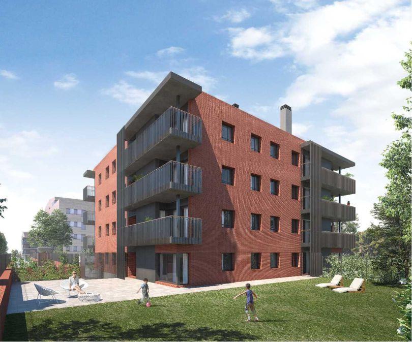 viviendas de nueva obra con piscina comunitaria