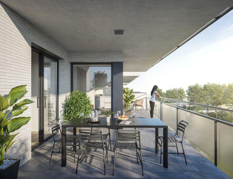 viviendas con piscina comunitaria en sitges